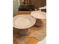 Pale Pink China Dishes
