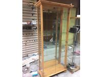 Glass display cabinet for £200 ONO
