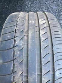 Michelin PS2 255/35/18 7.5mm Tread