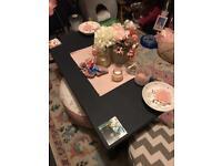 Dark blue coffee table