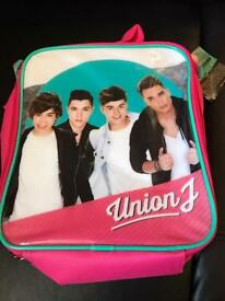 Brand new Union J insulate lunch box