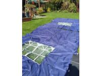 Camping 4x side panels for gazebo awnings