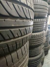 2 x 195/50R16 Continental tyres with 5mm tread