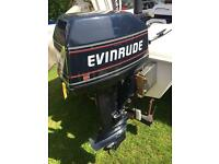 Evinrude 8hp Outboard boat engine