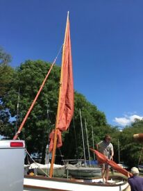 Sailing dinghy/outboard/trailer.Drascombe Lugger (2005 ?) , little used and in excellent condition.