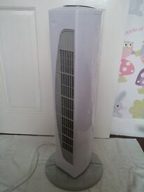 Oscillating Air Cooler Fan, 3 Speeds and Timer