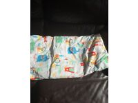 Duvet cover set, zip in gro to bed, for a cot bed