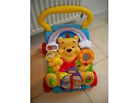 Winnie The Pooh Walker (with buttons to press and sounds)