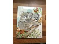 Koala Ceramic Picture Tile