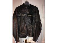 Harley Davidson Leather Jacket & Waistcoat