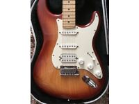 Fender HSS Stratocaster USA 2005 Sienna Sunburst with S1 switching and Hard case .