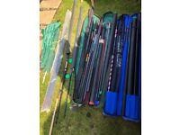 Joblot fishing equiptment