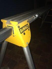 Dewalt chop saw stand with saw brackets