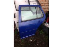 VW Golf Mk4 N/SR Door