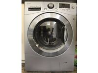 Very Quiet, High Capacity, Direct Drive Washer Dryer (8 kg Wash / 6 kg Dry)