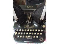 Antique Oliver Typewriter