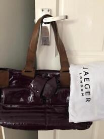 Stunning Jaeger leather handbag