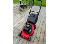 CHAMPION R84P PETROL PUSH MOWER LAWNMOWER VARIABLE SPEED EASY START WITH GRASS BOX