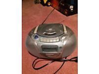 Panasonic portable stereo CD radio cassette player