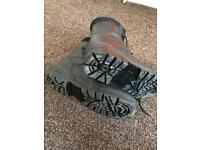 Military Combat boots size 8