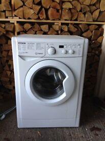 Indesit Washing Machine, 1 year old, perfect working order.