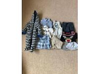 0-3 months old baby boy clothes bundle