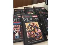 Collection of hardback Marvel Graphic novels