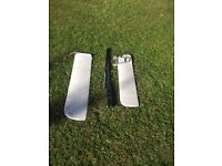 Topper Dinghy Rigging - Mast, boom, rudder, daggerboard and sail + some spare parts/bolts