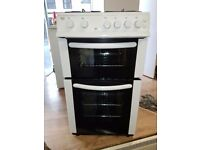 Bush gas cooker double oven 50cm