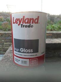 Leyland trade high gloss paint brilliant x2