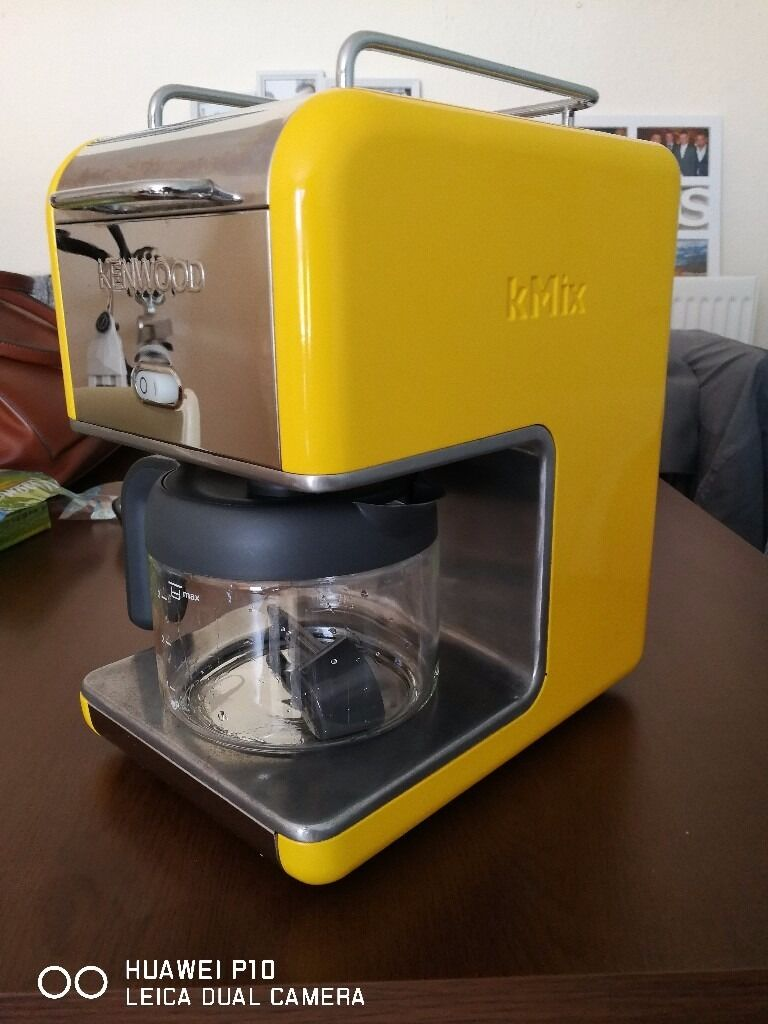 Kenwood Kmix Coffee makerin Knightswood, GlasgowGumtree - Kenwood Kmix 6 cup coffee maker Cm065. Never used, bought as it matched kettle and toaster. Euro to UK plug adapter needed had one in box but this was binned