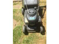 Honda petrol lawn mower