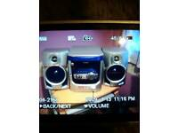Sharp compact stereo system