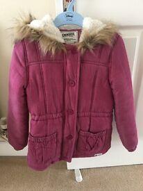 Girls Cherokee coat 9-10