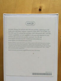 iPhone SE 64 gb locked to o2 warranty July 2017