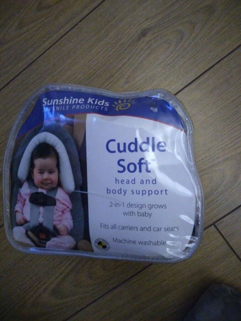 Cuddle Soft Head And Body Support For Baby Car Seats