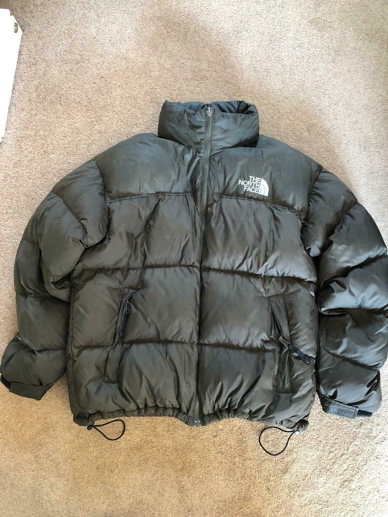 de1ed48dd THE NORTH FACE Nuptse 700 Khaki Goose Down Men's Hooded Puffer Jacket, Size  XL | in Rugby, Warwickshire | Gumtree