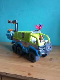 Jungle vehicle paw patrol
