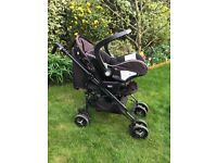Chicco Baby Travel System (italian design pram and car seat)