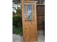 Solid internal wooden door