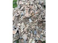 FREE LOAD OF HARDCORE . Mostly broken bricks collector to remove