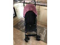 Mamas and Papas Cruise Buggy Pushchair Rose Pink