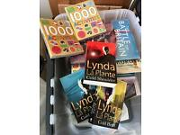 Assortment of new books