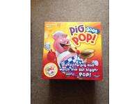 Pig goes pop kids game