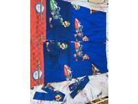Mario kart curtains