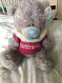 """Girlfriend"" Tatty teddy bear"