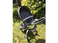 Stokke Xplory V4 excellent condition barely used + lots of extras!