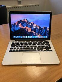 "Apple MacBook Pro 13"" Retina - 2.4GHz Intel i5 - 8GB 256GB SSD - Model A1502 - Excellent Condition"