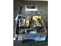 dewalt drill dcd710 with case battery and charger