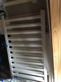 White cot bed bought from John Lewis
